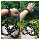 Genuine Shungite Nugget Bracelet From Russia