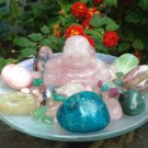Rose Quartz Buddha Love Crystals Altar