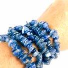 Natural Blue Kyanite Chips Bracelet