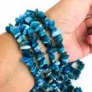 Neon Blue Apatite Healing Bracelet
