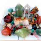 Attract Prosperity Crystals Healing House Kit Petite Design