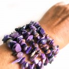 Charoite Healing Bracelet 100% Natural Genuine Charoite from Russia