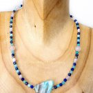 Ocean Vibes Crystal Healing Necklace 925 Sterling Silver