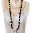 Shungite Necklace Collection Design #3 925 Sterling Silver