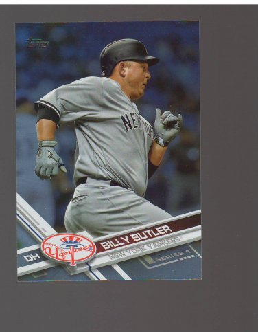 2017 Topps Rainbow Foil #118 Billy Butler Team: New York Yankees