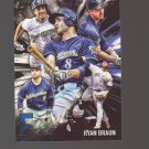 2017 Topps Five Tool #5T14 Ryan Braun Team: Milwaukee Brewers