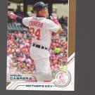 2017 Topps Salute #S2 Miguel Cabrera Team: Detroit Tigers