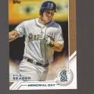 2017 Topps Salute #S13 Kyle Seager Team: Seattle Mariners
