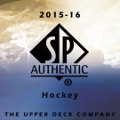 2015-16 SP Authentic Hockey Base Card Set 1-100 Case Fresh