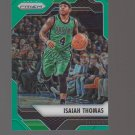 2016-17 Panini Prizm Prizms Green #42 Isaiah Thomas Team: Boston Celtics