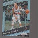 2016-17 Panini Prizm First Step Prizms Silver #1 Damian Lillard Team: Portland Trail Blazers
