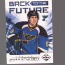 2012-13 Limited Back To The Future #BTFSS Brendan Shanahan/Jaden Schwartz /199 Team: St. Louis Blues