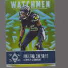 2016 Panini Phoenix Watchmen Yellow #WMRS Richard Sherman 47/99 Team: Seattle Seahawks