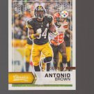 2016 Classics Glossy #100 Antonio Brown Team: Pittsburgh Steelers