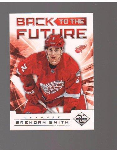 2012-13 Limited Back To The Future #BTFLS Nicklas Lidstrom & Brendan Smith /199