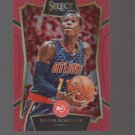 2015-16 Select Concourse Prizms Red #3 Dennis Schroder 044/149 Team: Atlanta Hawks