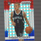 2013-14 Panini Prizm Prizms Red White and Blue Mosaic #288 Mason Plumlee RC