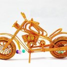Groove Motorcycle Semi - hard Aluminum Crafts Creative Handmade Student Work Home Furnishings