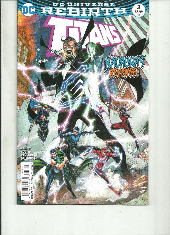 TITANS #3 REBIRTH DC Comics 2016 1st Print NM