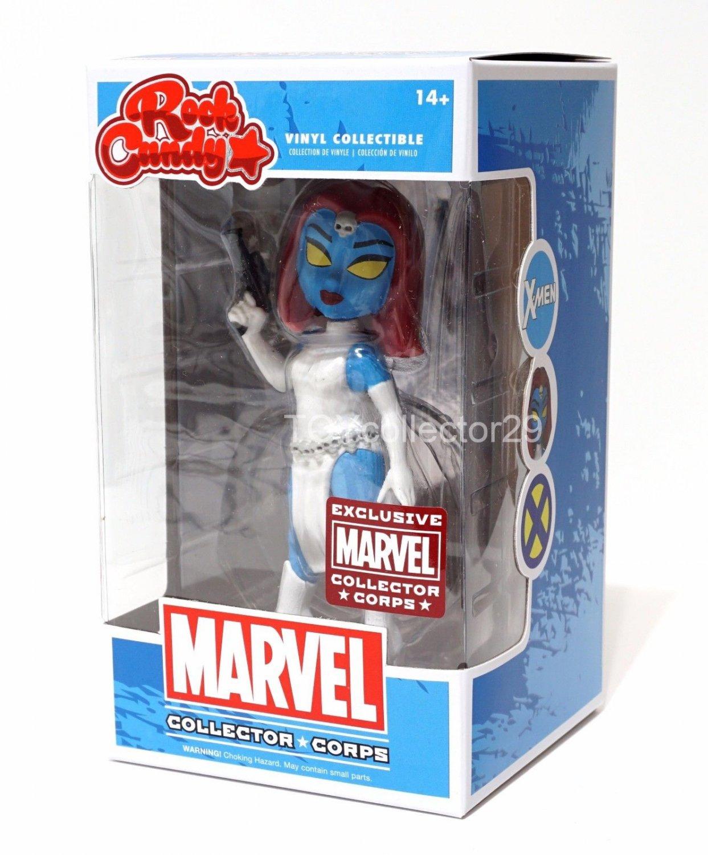 Funko Mystique Rock Candy Figure Marvel Collector Corps Exclusive X-men
