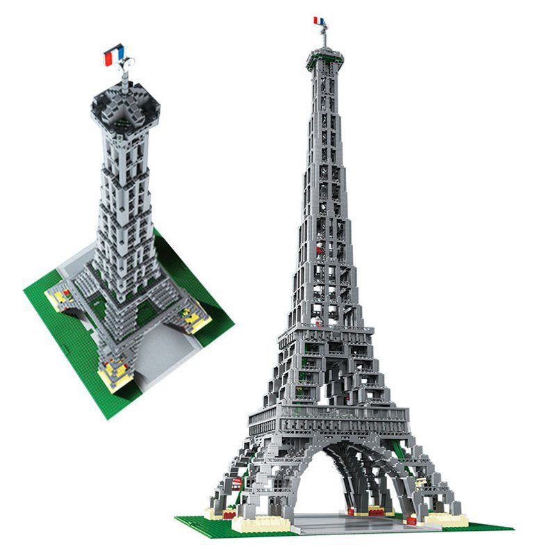 lepin 17002 the eiffel tower model 3478pcs free shipping. Black Bedroom Furniture Sets. Home Design Ideas