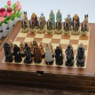 Lord Of The Rings Chess Set Wooden Board Collectors Unique Gift - Free Shipping