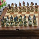 Ancient Egypt Chess Set Wooden Board Collectors Unique Gift - Free Shipping