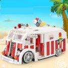Xingbao 08004 The Ice Cream Car Technic  Series 1000Pcs - Free Shipping