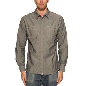 Weatherproof Vintage Men's Long Sleeve Shirt~Black Denim~Sizes-L & XL~NWT