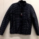 Ben Sherman Men's Quilted Down Puffer Zip Jacket Coat~Black~Sz-M~NEW