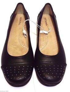 Merona Women's Ballet Maegan Studded Flats Cushoned Shoes~Black~Sz-7~NEW
