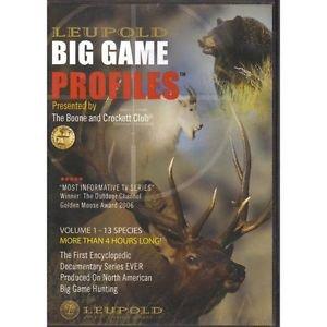 LEUPOLD BIG GAME PROFILES    2 disk set Volume 1 DVD~ NEW for Hunters!!