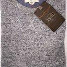 Weatherproof Men's L/S Crew Neck Pullover Sweater Sweatshirt~GRAY~Sz-M~NWT