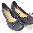 "Kenneth Cole Women's Ballet Flats ""LUKA"" Shoes~Sz-7.5~Black~NWT"