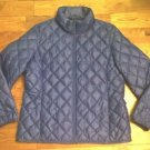 32 Degrees Heat Women Packable Down Jacket Coat Purple Sz-L ret-$100