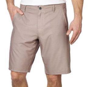 DaHui Men's Hybrid Casual Board Stretch Shorts~Heather Khaki~Sz-30, 32 & 34~NWT