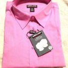 Kirkland Women's 3/4 Sleeve Button Stretch down Non iron Shirt~Rose~Sz-S/P~NWT