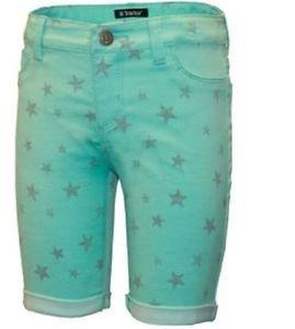 Tractor Girl's Stretch Adjustable Waist  Bermuda Shorts~Sz-6~MINT~NWT