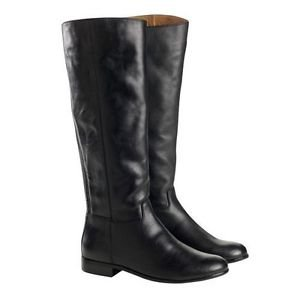 Kenneth Cole New York~ Ladies Equestrian Leather Boots~MEA~Black~Size-6.5~NEW