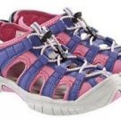 Khombu® Kids Girls Waterproof Sandals Shoes~Gray/Pink/Purple~Sz-1~NEW