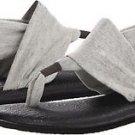 SANUK Women's Yoga Mat Vegan Flip Flop Slip-on Sling 2 Sandals~Gray~Sz-6~NWT