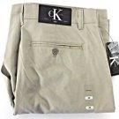 Calvin Klein Men's Lifestyle Cotton Cargo Shorts~Khaki Fennel~Sz-W32~NWT