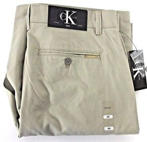 Calvin Klein Men's Lifestyle Cotton Cargo Shorts~Khaki Fennel~Sz-W32~NWT