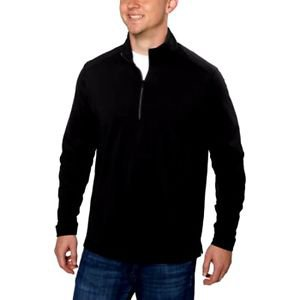 GREG NORMAN Technical Performance Play Dry 1/4 Zip Pullover Jacket~Blk~Sz-M~NWT