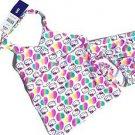 Hello Kitty Sanrio Girls 2 piece Tankini Swimsuit~Rainbow Hearts~Size-10~NWT