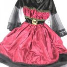 Girls Vampire Halloween Costume Dracula PRINCESS~Simply Spooky~Size-3~6 ~NWT