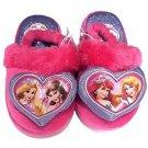 Disney Girl's Princess Belle  Ariel Slippers~Pink/Purple~Sz-L~NWT