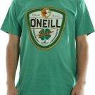 O'Neill St. Patricks Day Dublin T-Shirt World Famous Lager Beer~Green~Sz-XL~NWT