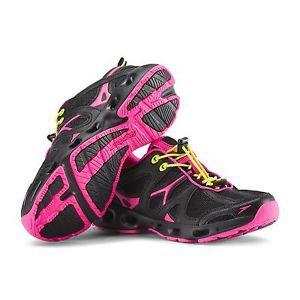 Speedo® Ladies� Hydro Comfort 4.0 Water Shoes-Black & Pink~Sz-8~NWT