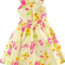 Jona Michelle Girls Floral Shimmering Easter~Party Dress~Yellow/Pink~Sz-2T~NWT